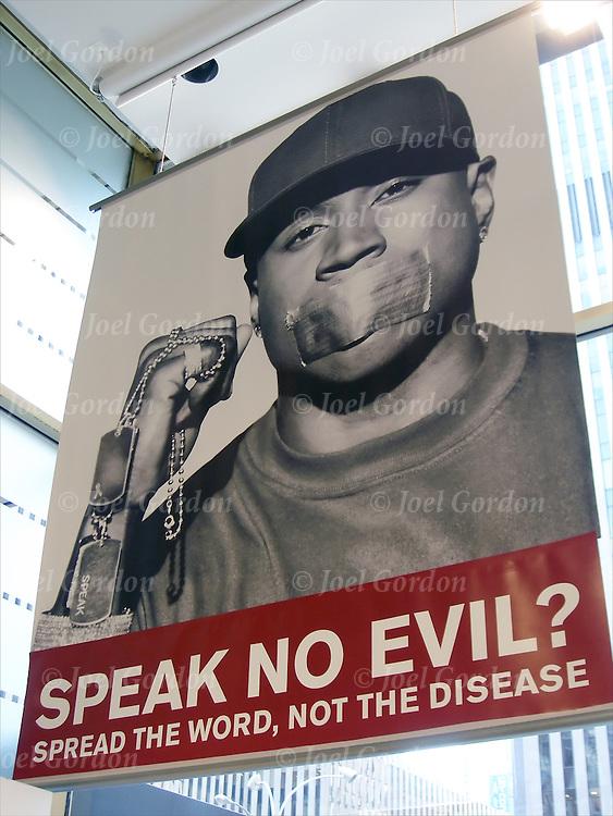 ALDO Fight AIDS Ads - SPEAK NO EVIL- AIDS awarness