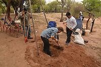 Water Well Drilling in Isosog, Santa Cruz, Bolivia