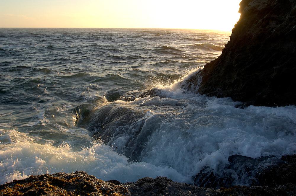 Coast at Russian Gulch State Park, near Mendocino, California, United States of America