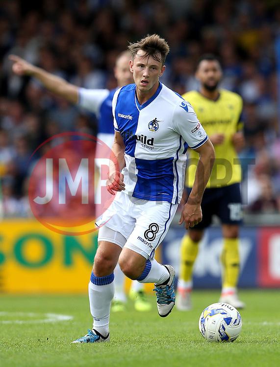 Ollie Clarke of Bristol Rovers runs with the ball - Mandatory by-line: Robbie Stephenson/JMP - 14/08/2016 - FOOTBALL - Memorial Stadium - Bristol, England - Bristol Rovers v Oxford United - Sky Bet League One