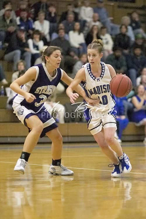 MCHS Varsity Girls Basketball..vs Strasburg..First Period..December 17, 2004
