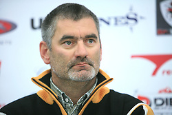 Coach Urban Planinsek at press conference of Slovenian men and women alpine skiing national team before new season 2008/2009 in Hervis, City park, BTC, Ljubljana, Slovenia, on October 20, 2008.  (Photo by: Vid Ponikvar / Sportal Images).