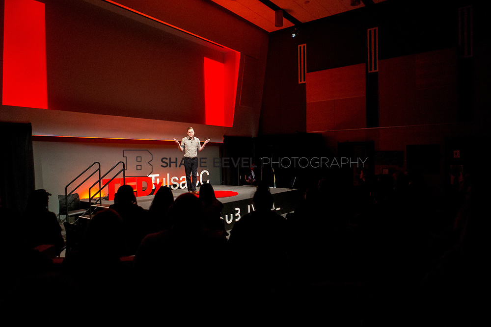 4/29/17 5:25:43 PM -- Tedx TulsaCC event at the Center for Creativity. Released under Creative Commons license for non commercial, non derivative usage. <br /> <br /> Photo by Shane Bevel