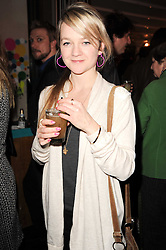 CHLOE BILLINGTON at a party to celebrate the publication of Mexican Food Made Simple by Thomasina Miers held at Wahaca, Westfield Shopping Centre, London on 2nd February 2010.