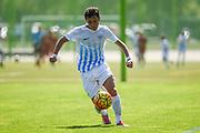 10.09.2016; Zuerich; Fussball FC Zuerich Academy - FC Zuerich U16 - Vaud Lausanne. <br />Andre Jacob (Zuerich) <br />(Andy Mueller/freshfocus)