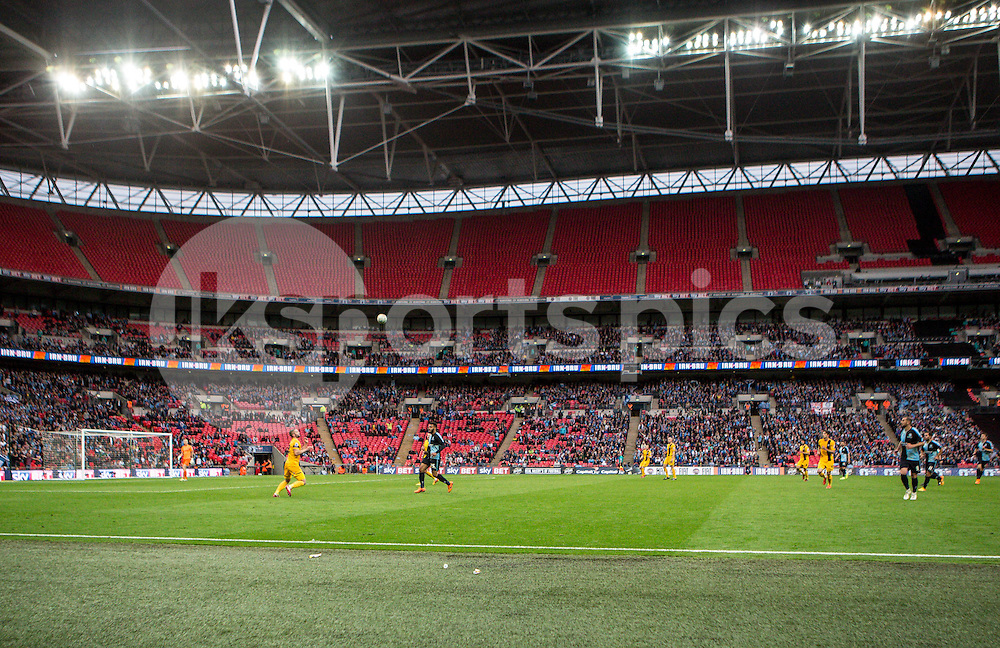 General view during the Sky Bet League 2 Play-Off Final match between Southend United and Wycombe Wanderers at Wembley Stadium, London, England on 23 May 2015. Photo by Liam McAvoy.
