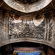 Located in the eastern part of the Bagan Plain, Lemyethna Pagoda was built in 1222. It features intricate figure frescoes on its interior walls and ceilings.