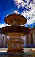 """Bernini fountain in Piazza San Pietro - Vatican""...<br />