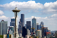 View of downtown Seattle, Washington from Kerry Park