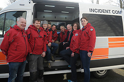 Mayo Mountain Rescue were delighted to have<br /> Minister for Rural and Community Development Michael Ring T.D. pictured with some team members at the launch of the team's new Mobile Incident Command Vehicle on Saturday last at the MMRT Headquarters, Pinewoods, Westport.<br /> Pic Conor McKeown