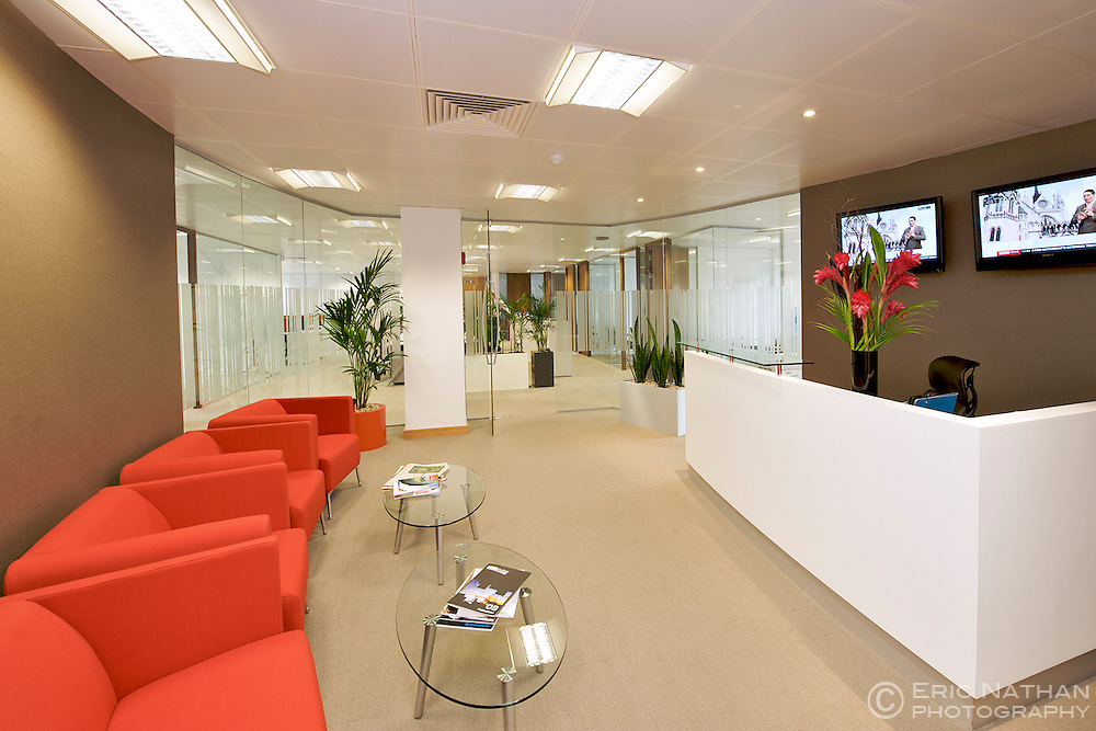 Dangote Global Services Ltd offices, 75 Davies Street, London W1.