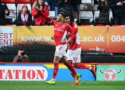 Jake Forster-Caskey of Charlton Athletic celebrates his teams third goal. - Mandatory by-line: Alex James/JMP - 24/11/2018 - FOOTBALL - The Valley - Charlton, London, England - Charlton Athletic v Bristol Rovers - Sky Bet League One