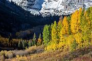 Maroon Bells in Fall
