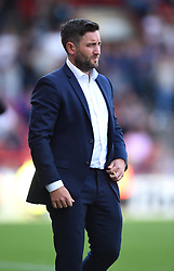 Bristol City head coach Lee Johnson  - Mandatory by-line: Paul Knight/JMP - 19/08/2017 - FOOTBALL - Ashton Gate Stadium - Bristol, England - Bristol City v Millwall - Sky Bet Championship