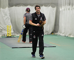 Somerset Academy coach Steve Snell. - Mandatory byline: Alex Davidson/JMP - 25/02/2016 - CRICKET - The Cooper Associates County Ground -Taunton,England - Somerset CCC  Media access - Pre-Season