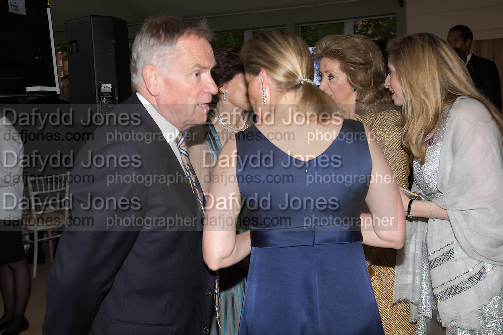 JEFFREY ARCHER; SOPHIE COUNTESS OF WESSEX;, Art Antiques London Party in the Park, in aid of Great Ormond Street Hospital Childrens Charity. Kensington Gdns opposite the Albert Hall. London. 11 June 2013.