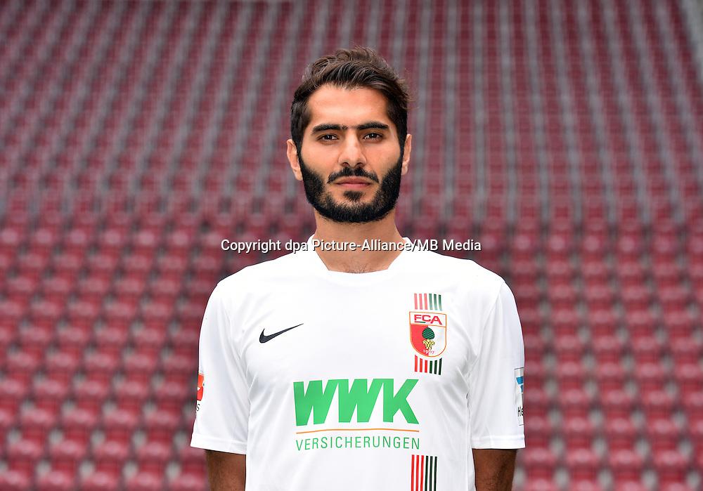 German Soccer Bundesliga 2015/16 - Photocall of FC Augsburg on 08 July 2015 in Augsburg, Germany: Halil Altintop