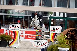 HALLUNDBEAK Emil (DEN), Dazermie<br /> Hagen - Horses and Dreams meets the Royal Kingdom of Jordan 2018<br /> Finale Mittlere Tour<br /> 29. April 2018<br /> www.sportfotos-lafrentz.de/Stefan Lafrentz