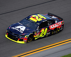 February 17, 2019 - Daytona, FL, U.S. - DAYTONA, FL - FEBRUARY 17: William Byron, Hendrick Motorsports, Chevrolet Camaro Axalta (24) during the running of the 61st annual Daytona 500 on February 17, 2019 at Daytona International Speedway in Daytona Beach, Florida (Photo by Jeff Robinson/Icon Sportswire) (Credit Image: © Jeff Robinson/Icon SMI via ZUMA Press)