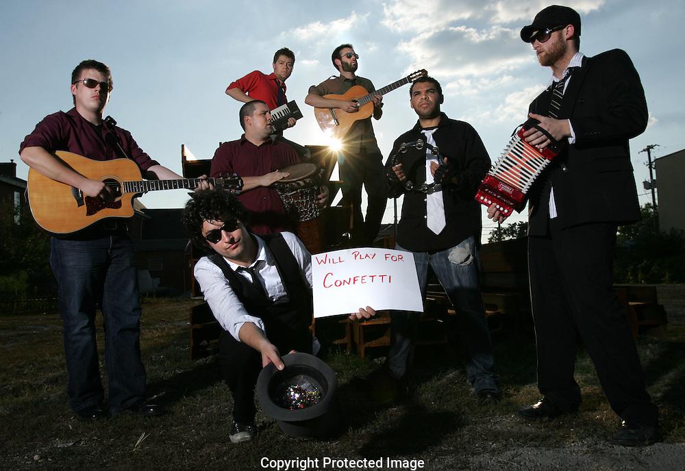 The band Lost Revival.(Jodi Miller/Alive)