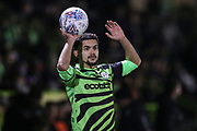 Forest Green Rovers Dominic Bernard(3) during the EFL Sky Bet League 2 match between Forest Green Rovers and Port Vale at the New Lawn, Forest Green, United Kingdom on 11 February 2020