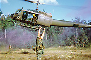 Extraction. C Troop, 1st Squadron, 9th Cavalry. 1970.