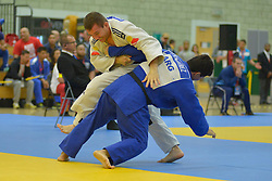 Cyril Jonard, -81kg, FRA, Rodolfo Fabian Ramirez, ARG, 2016 Visually Impaired Judo Grandprix, British Judo, Birmingham, England