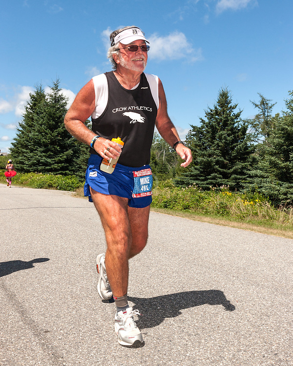 Great Cranberry Island Ultra 50K road race: Mike Brooks