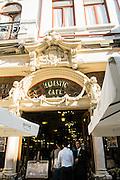 Café Majestic exterior