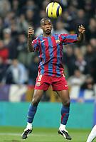 Fotball<br /> Spania 2005/2006<br /> Foto: Miguelez/Digitalsport<br /> NORWAY ONLY<br /> <br /> 19.11.2005<br /> Real Madrid v Barcelona 0-3<br /> <br /> Samuel Eto'o