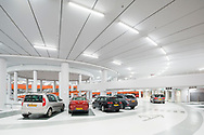 Parkeergarage Lammermarkt Leiden, door JHK Architecten, gebouwd door Dura Vermeer. Winnaar Betonprijs 2017<br />