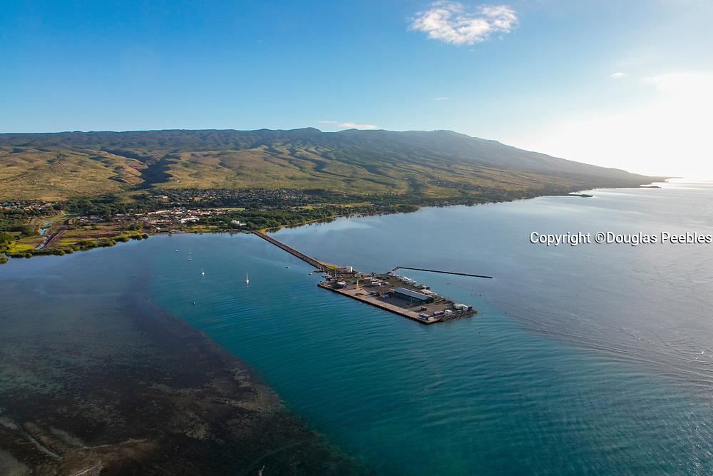 Kauanakakai Boat Harbor, Molokai, Hawaii