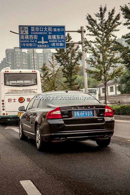 2011 08 Beijing Kina China Peking<br /> Volvo bil i Beijing<br /> <br /> <br /> ----<br /> FOTO : JOACHIM NYWALL KOD 0708840825_1<br /> COPYRIGHT JOACHIM NYWALL<br /> <br /> ***BETALBILD***<br /> Redovisas till <br /> NYWALL MEDIA AB<br /> Strandgatan 30<br /> 461 31 Trollh&auml;ttan<br /> Prislista enl BLF , om inget annat avtalas.