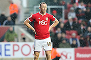 Bristol City's Aaron Wilbraham during the Sky Bet Championship match between Bristol City and Ipswich Town at Ashton Gate, Bristol, England on 13 February 2016. Photo by Shane Healey.
