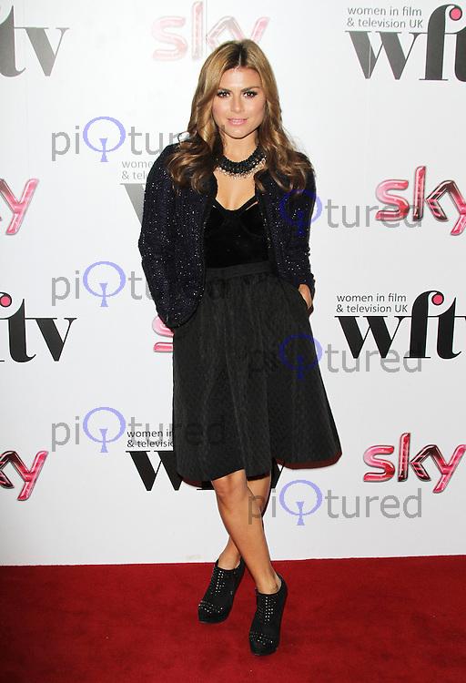 LONDON - DECEMBER 07: Zoe Hardman attended the Women in Film and TV Awards at the London Hilton Hotel, Park Lane, London, UK. December 07, 2012. (Photo by Richard Goldschmidt)