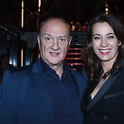 NLD/Zaandam/20131113 - Inloop premiere Nederland Musicalland, Henk Poort en partner Marjolein Keuning