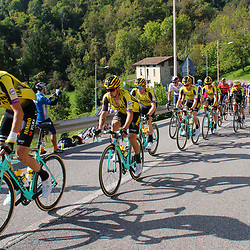 12-10-2019: Cycling: Il Lombardia: Como<br />Jumbo-Visma Robert Gesink, Primoz Roglic