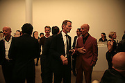 Nicholas Serota and Alex Katz, Alex Katz 'One Flight Up' at the new Timothy Taylor Gallery , 15 Carlos Place. London. 11 October 2007. -DO NOT ARCHIVE-© Copyright Photograph by Dafydd Jones. 248 Clapham Rd. London SW9 0PZ. Tel 0207 820 0771. www.dafjones.com.
