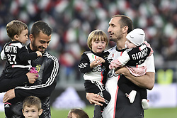 May 19, 2019 - Turin, Turin, Italy - Giorgio Chiellini of Juventus FC during the Serie A match at Allianz Stadium, Turin (Credit Image: © Antonio Polia/Pacific Press via ZUMA Wire)