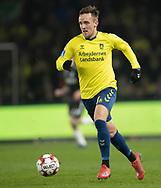 FODBOLD: Lasse Vigen (Brøndby IF) under kampen i Superligaen mellem Brøndby IF og Randers FC den 24. februar 2019 på Brøndby Stadion. Foto: Claus Birch.