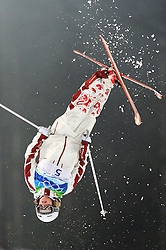 Olympic Winter Games Vancouver 2010 - Olympische Winter Spiele Vancouver 2010, Freestyle Skiing (Ladies' Moguls), Chloe Dufour-Lapointe of Canada competes at Cypress Mountain in the women's moguls freestyle skiing competition in Vancouver BC, Canada during the 2010 Winter Olympics Saturday February 13, 2010. Dufour-Lapointe took 5th overall with a score of 23.87.***Photo by NEWSPORT / HOCH ZWEI / SPORTIDA.com..... *** Local Caption *** +++ www.hoch-zwei.net +++ copyright: HOCH ZWEI / newsport +++