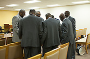 Detroit Gospel Community of Detroit perform at various local churches