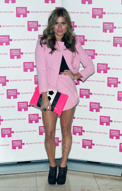 01.OCTOBER.2012. LONDON<br /> <br /> CELEBRITIES ATTEND THE BREAST CANCER CAMPAIGN LAUNCH PARTY HELD AT THE VERTIGO TOWER IN EAST LONDON.<br /> <br /> BYLINE: EDBIMAGEARCHIVE.CO.UK<br /> <br /> *THIS IMAGE IS STRICTLY FOR UK NEWSPAPERS AND MAGAZINES ONLY*<br /> *FOR WORLD WIDE SALES AND WEB USE PLEASE CONTACT EDBIMAGEARCHIVE - 0208 954 5968*