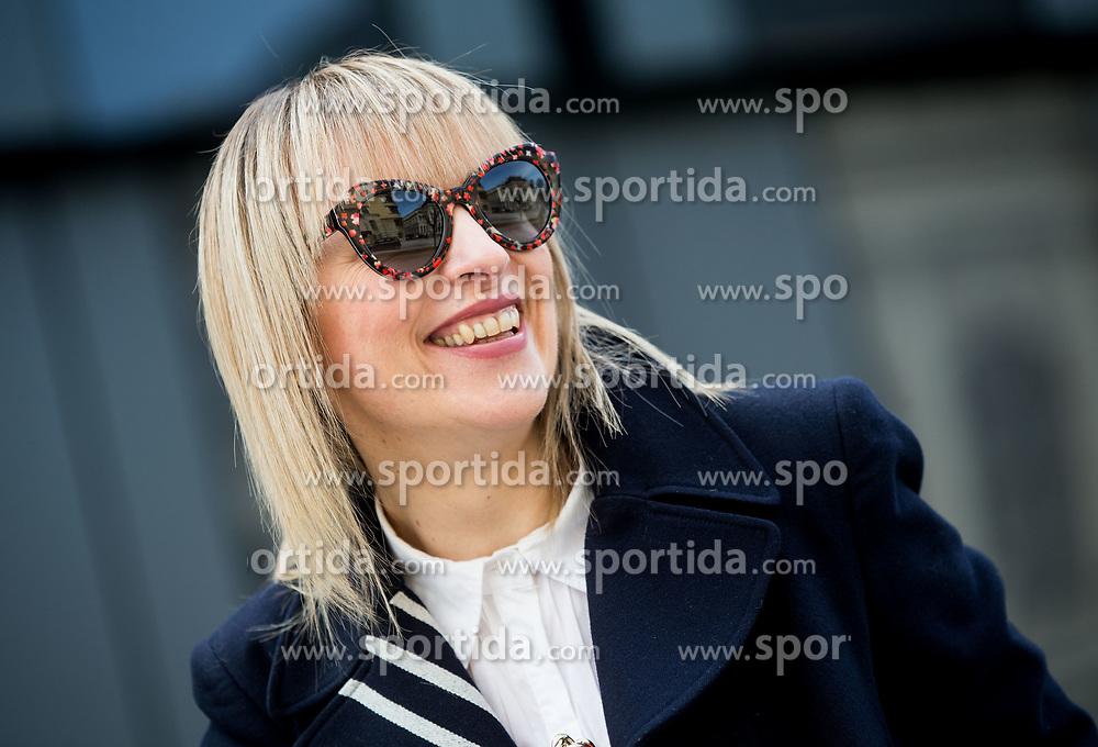Brigita Potočki // Portrait of Brigita Potocki, Slovenian blogger and outhor of blog MJZ Fashion, on March 7, 2017 in Ljubljana, Slovenia. Photo by Vid Ponikvar / Sportida