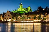 SWITZERLAND: Schaffhausen + Rhine Falls