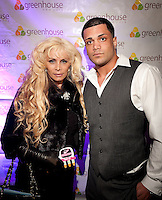 NEW YORK, NY - APRIL 13:  Victoria Gotti & Frank Gotti Agnello attend Frank Gotti's 21st birthday celebration at Greenhouse on April 13, 2011 in New York City.  (Photo by Dave Kotinsky/Getty Images)