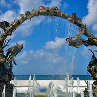 Tribute to Coral Reefs in San Miguel, Cozumel, Mexico <br />