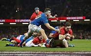 Wales v Italy, 11 March 2018