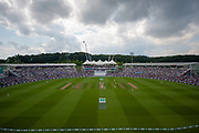 the Ageas Bowl during the second day of the 4th SpecSavers International Test Match 2018 match between England and India at the Ageas Bowl, Southampton, United Kingdom on 31 August 2018.