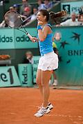 Paris, France. June 1st 2009. .Roland Garros - Tennis French Open..Sorana Cirstea against Jelena Jankovic